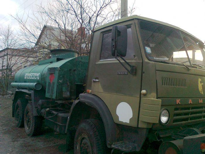 Фото КАМАЗ 43101 топливо-зап…