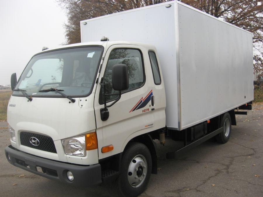 Новый изотермический грузовик HYUNDAI…