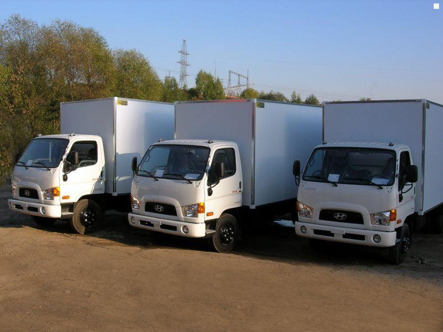 Hyundai HD78 Промтоварный фургон (…