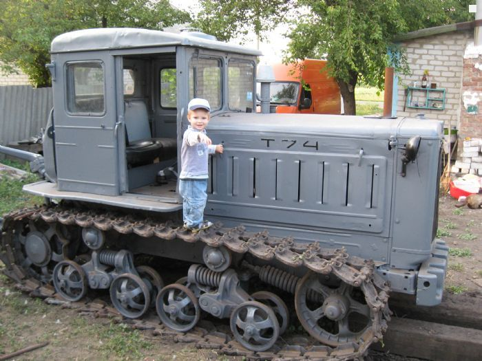 Фото трактор т 74