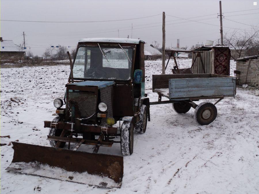 Минитрактор Cамодельный мини-трактор УДС 25.