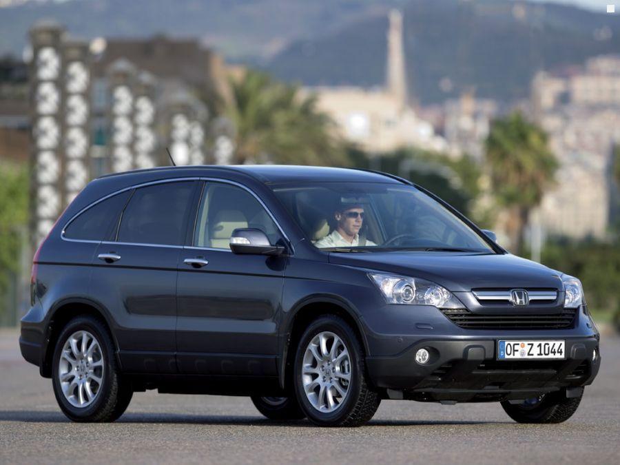 Honda CR-V: технические хара…