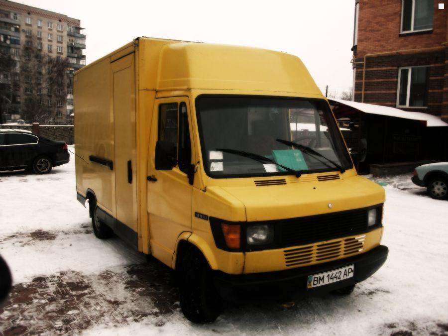 фургон, 5 дв., дизель, 4 ст. АКП, 25…