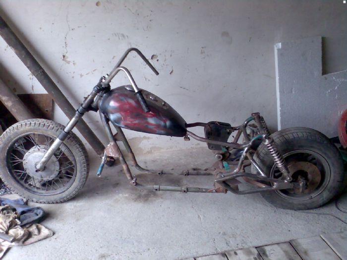 Рама мотоцикла своими руками фото