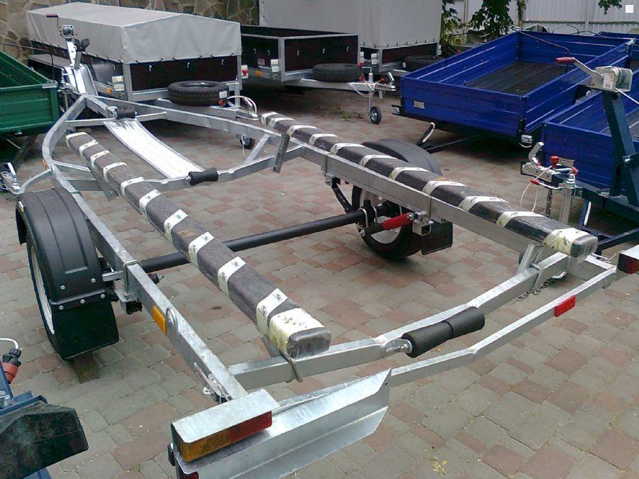 ролики на прицеп для лодки самодельные