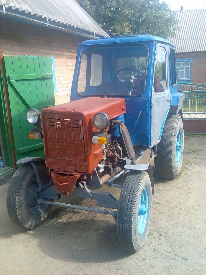 Как сделать трактор своими руками из газ 53 96