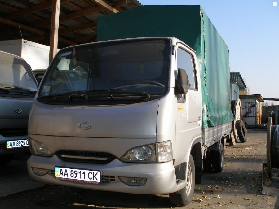 Тентованный грузовик NISSAN от к…