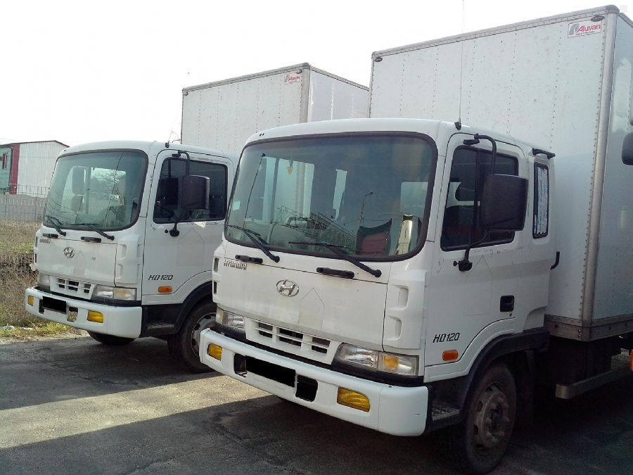 Продам фургон HYUNDAI HD 120.