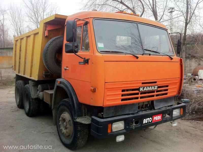 Частное объявление о продаже б.у. грузовика КамАЗ 55111 ро210,8 Ев (оранжевый) 2006 года выпуска